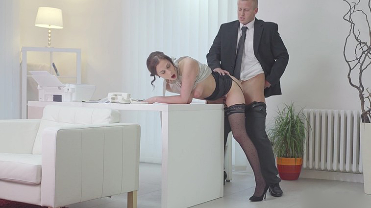 Boss fucked secretary Antonia Sainz