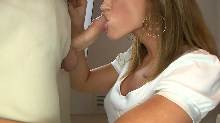 Blowjob with a cumshot