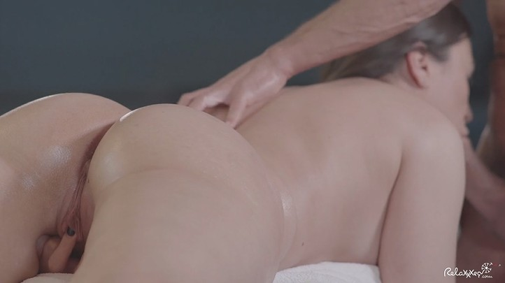 Perfect Wife Sucks Cock on Massage