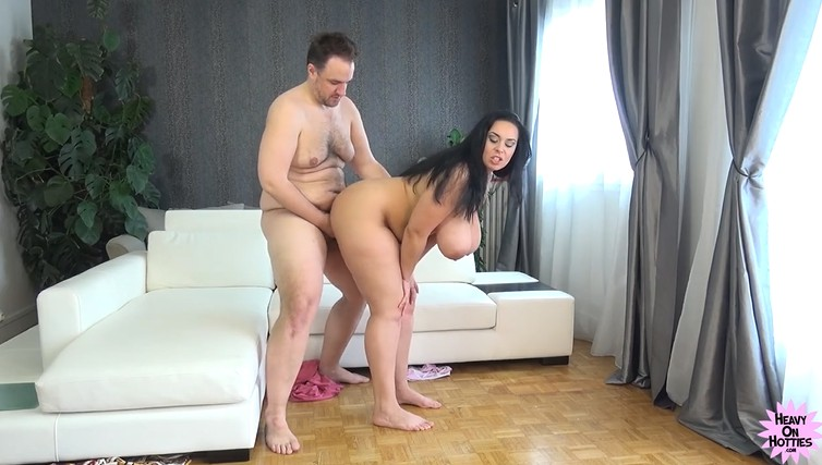 Fat Guy Fucks BBW Wife