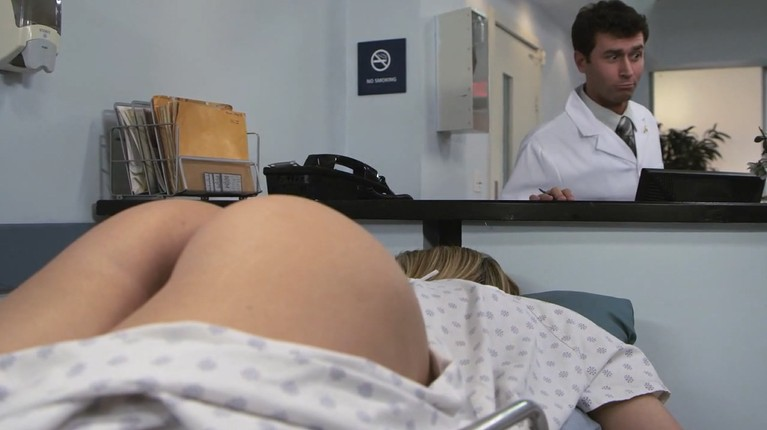 Doctor wants to roughly fucks busty patient